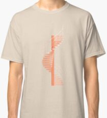 Helical Stairs Classic T-Shirt