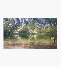 Hillside river reflections Photographic Print