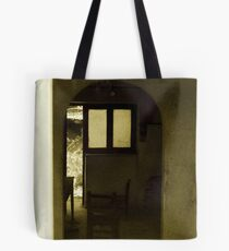 Old deserted house Tote Bag