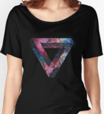 Penrose Nebula Triangle Women's Relaxed Fit T-Shirt