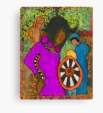 Tribal Trio Canvas Print