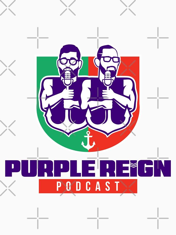 Purple Reign Heritage Logo (Light) by PurpleReignPod
