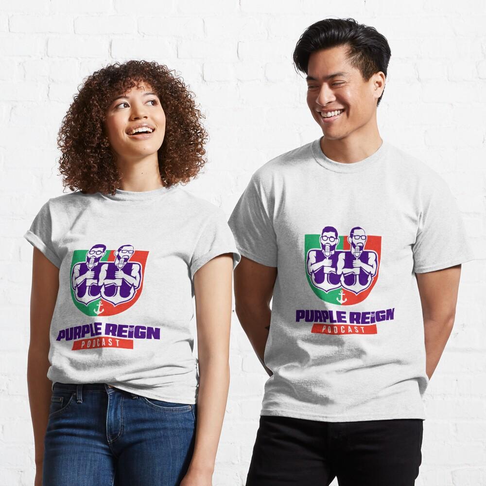 Purple Reign Heritage Logo (Light) Classic T-Shirt