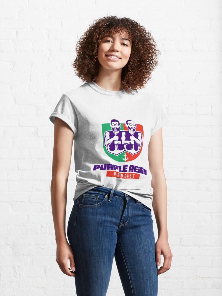 Alternate view of Purple Reign Heritage Logo (Light) Classic T-Shirt