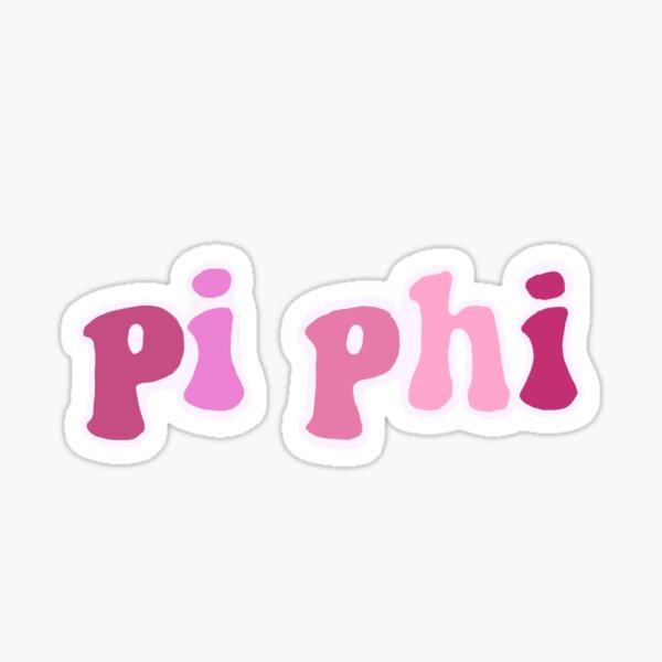 Pi Beta Phi Sorority Sticker Sticker