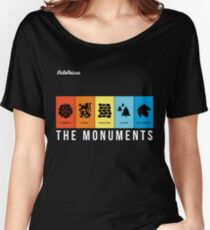 VeloVoices Monuments T-Shirt Women's Relaxed Fit T-Shirt