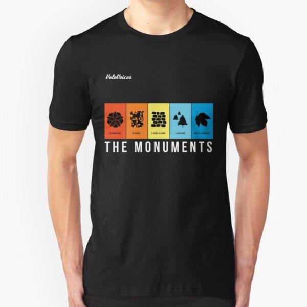 VeloVoices Monuments T-Shirt Slim Fit T-Shirt