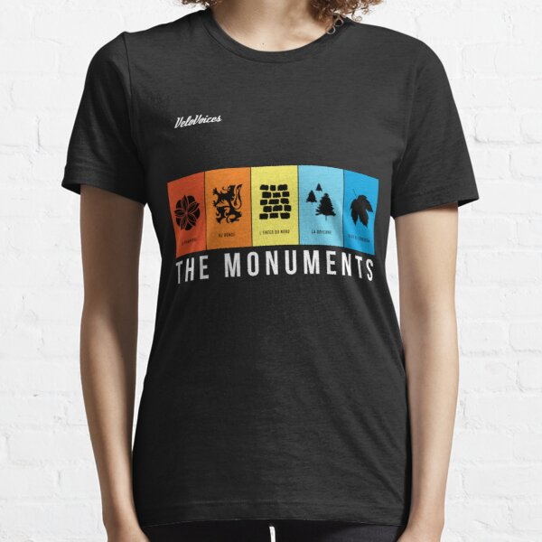 VeloVoices Monuments T-Shirt Essential T-Shirt