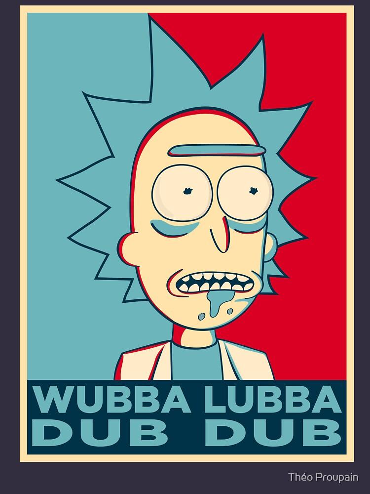 RICK SANCHEZ WUBBA LUBBA DUB DUB | Unisex T-Shirt