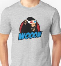 Wooow - 3D amazed Ape T-Shirt