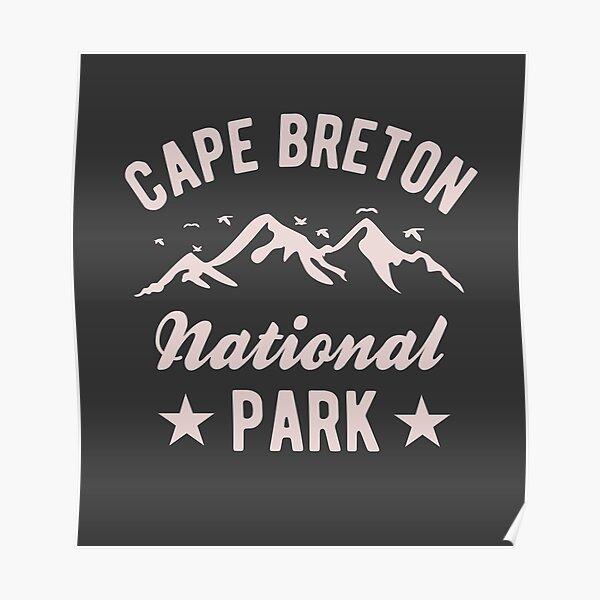 Parc national du Cap-Breton Poster