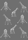 Strike a Pose (Giraffe) by Beth Thompson