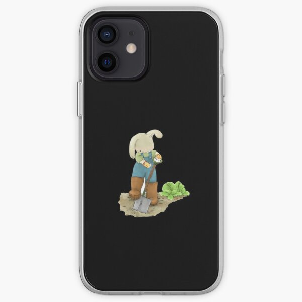 Ask Me About My Plants, Rabbit in the Garden iPhone Soft Case