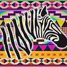 Zebra - African Print  by chrissyonahype