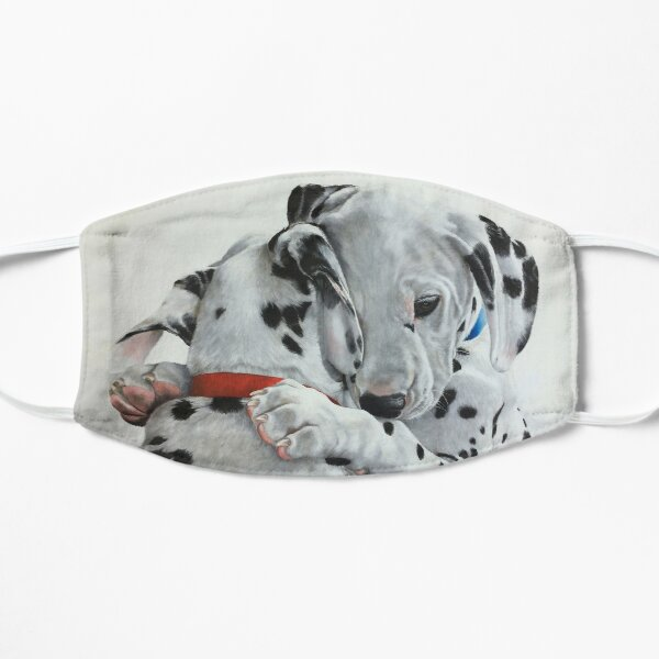 Dalmatian pups - Forever Friends. Flat Mask