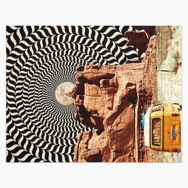 Illusionary Road Trip Jigsaw Puzzle