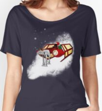 Walking in a Winter Vaderland Women's Relaxed Fit T-Shirt