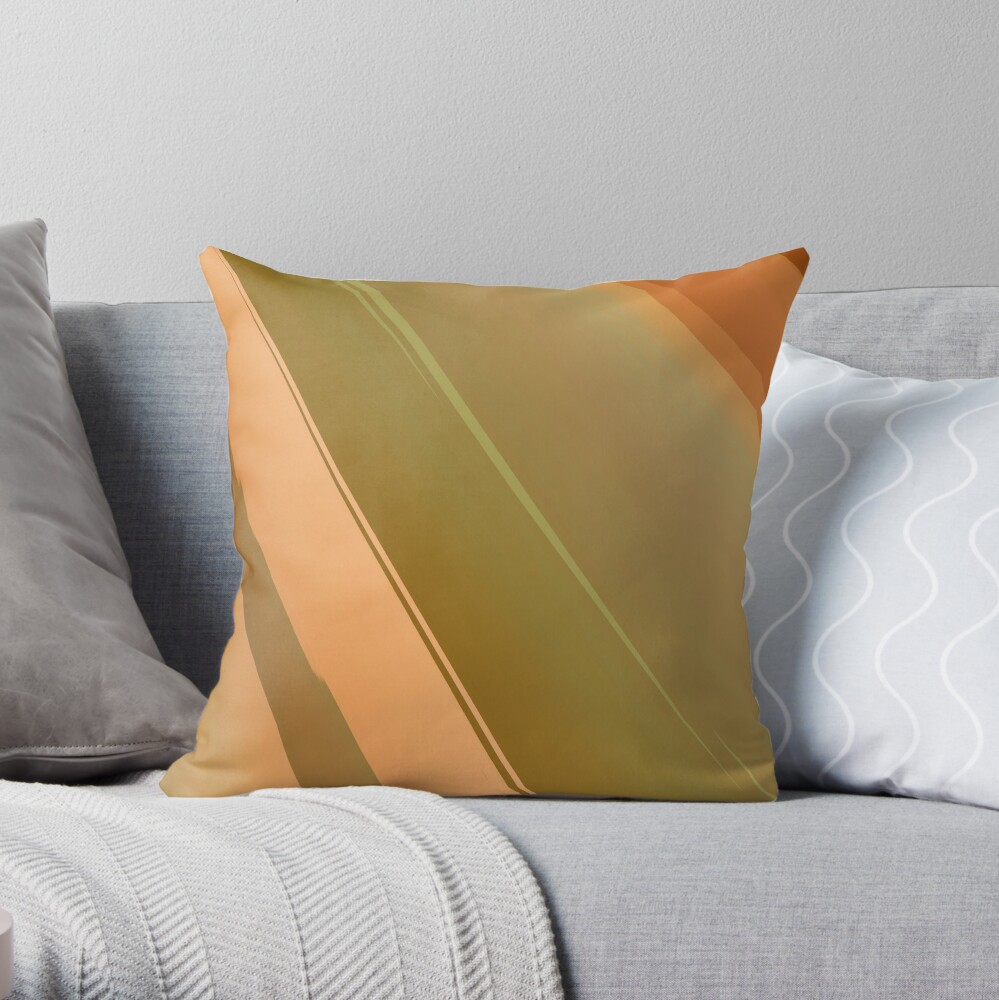 Abstract acrylics patterns Planet RedB11 magic colors file 014 Throw Pillow