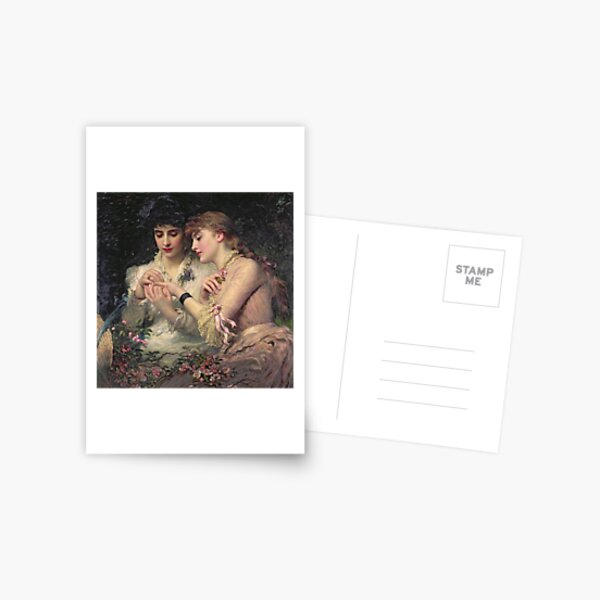 A Thorn Amidst the Roses by James Sant Postcard