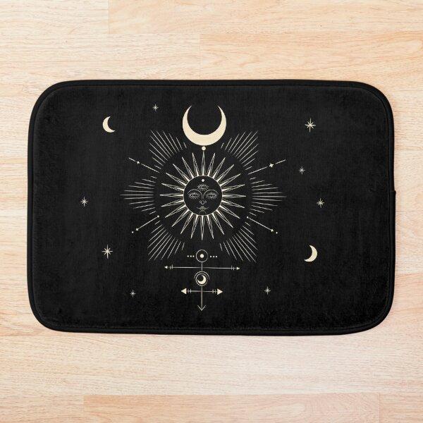Tarot • Sun & Moon  Bath Mat