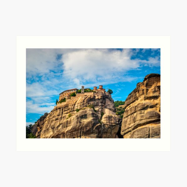 Grand Meteora Monastery, founded in the 1300's AD Art Print