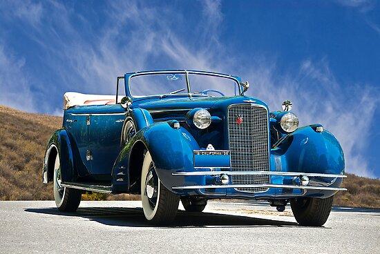1934 Cadillac Convertible Sedan III by DaveKoontz