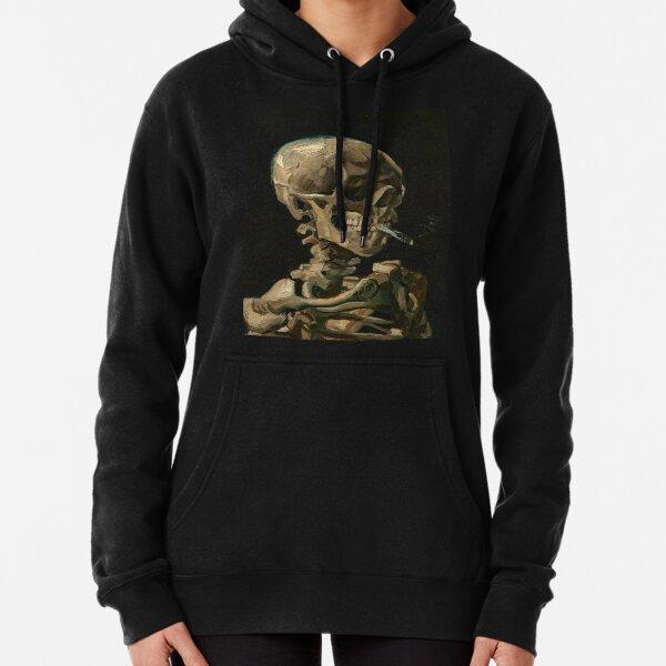 Van Gogh - Head of a Skeleton Pullover Hoodie
