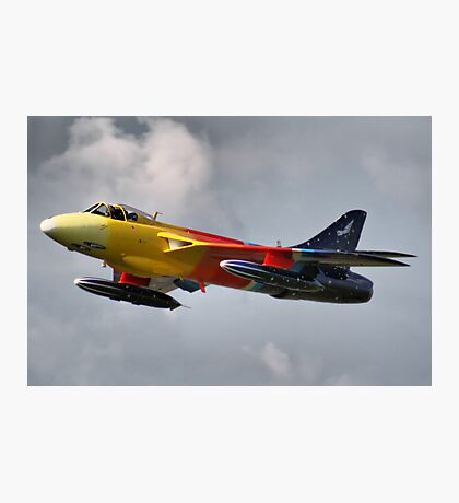 Miss Demeanour - Personal Super Sonic Transport - Dunsfold 2013 Photographic Print