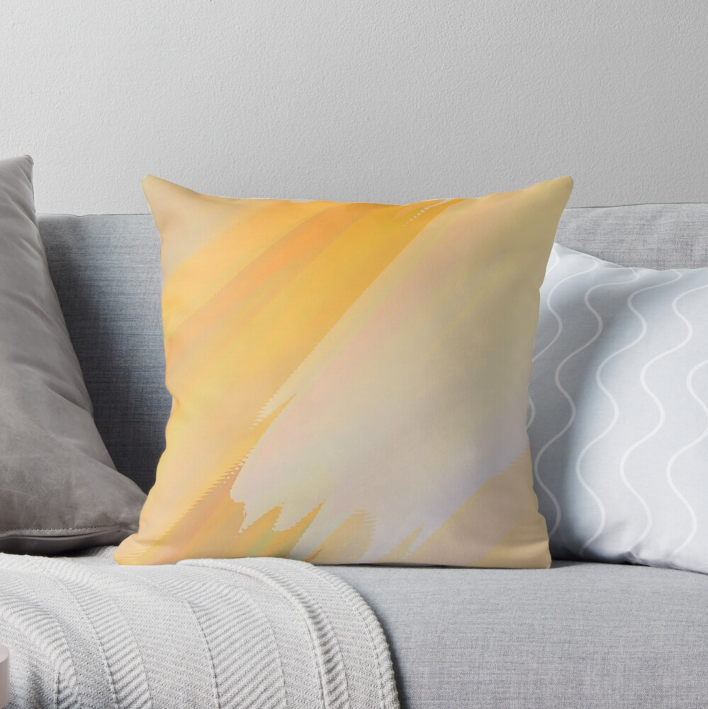 Abstract acrylics patterns Planet RedB11 magic colors file 029 Throw Pillow