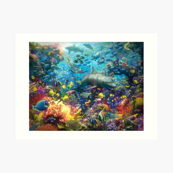 The Red Sea Art Print
