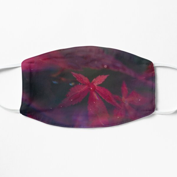 Japanese maple, or Acer, shot through a prisma Mask