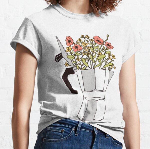 Moka Flowers Classic T-Shirt