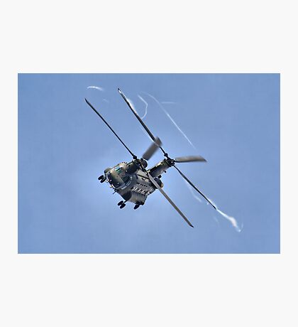Vortex - The Chinook Display - Dunsfold 2013 Photographic Print