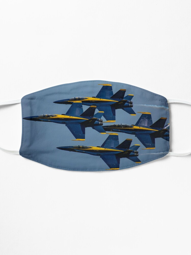 Alternate view of The Blue Angels Diamond 360  Mask