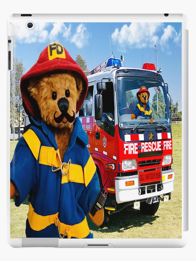 ▂ ▃ ▅ ▆ █ TEDDY BEARS...THEY CALL ME THE FIREMAN THATS MY NAME  GOIN OUT ALL OVER TOWN PUTTIN OUT OLD FLAMES IPAD CASE █ ▆ ▅ ▃ by ✿✿ Bonita ✿✿ ђєℓℓσ