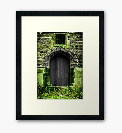 Magical Door Framed Print