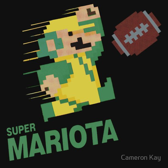 TShirtGifter presents: Super Mariota | Unisex T-Shirt