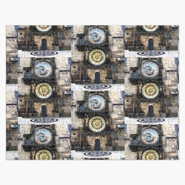 Prague Astronomical Clock  Jigsaw Puzzle