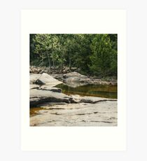 Relaxing Spot by the James Art Print