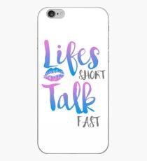 Lifes Short iPhone Case
