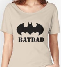 BATDAD Women's Relaxed Fit T-Shirt