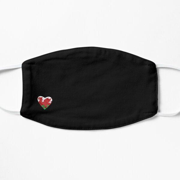 Small Welsh Heart Flag Mask