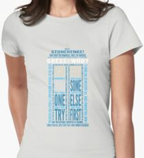 """Doctor Who TARDIS Quotes shirt - Eleventh Doctor """"Pandorica"""" Version T-Shirt"""
