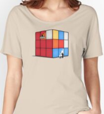 Solving the cube Women's Relaxed Fit T-Shirt