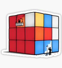 Solving the cube Sticker