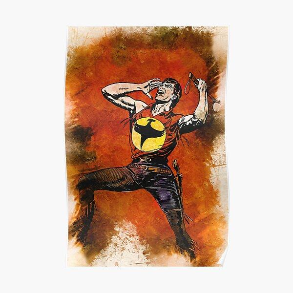 ZAGOR Lo Spirito con la Scure Fan Art Custom Portrait Poster