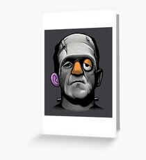 Mr Frankie Head Greeting Card