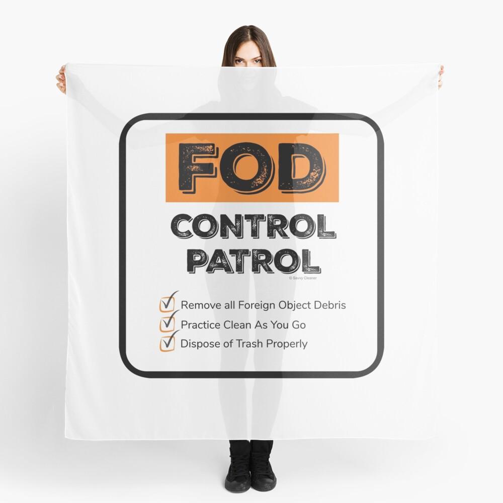 FOD Control Patrol Scarf