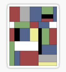 Mondrian #5 Sticker