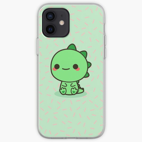 Dinosaure Kawaii Coque souple iPhone